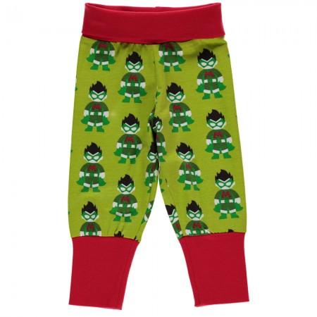 Maxomorra Superhero Rib Pants
