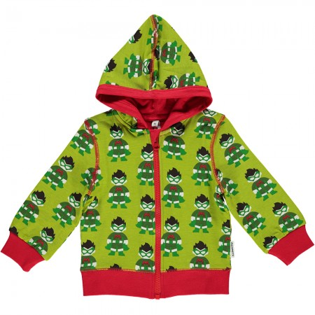 Maxomorra Superhero Zip Hoody