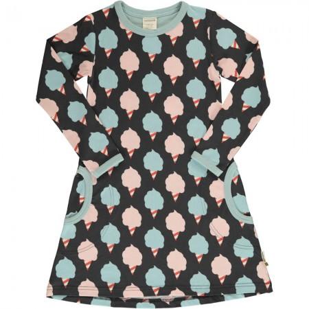 Maxomorra Sweet Cotton Candy LS Dress