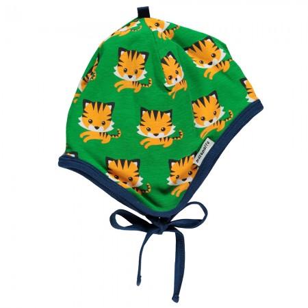 Maxomorra Tiger Baby Bonnet Hat