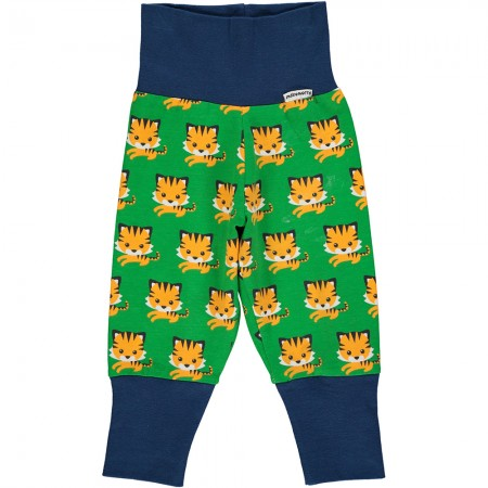 Maxomorra Tiger Rib Pants