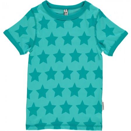 Maxomorra Turquoise Stars SS Top