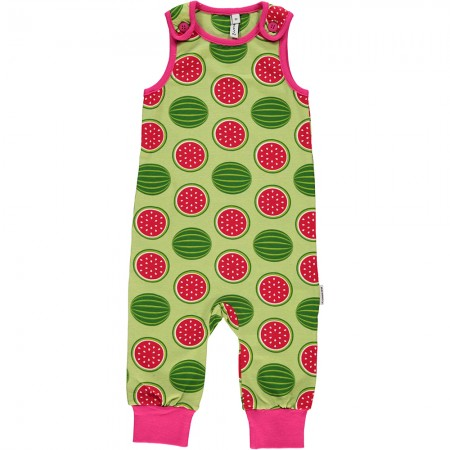 Maxomorra Watermelon Dungarees