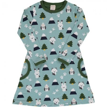 Maxomorra Winter World LS Dress