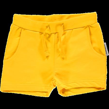 Maxomorra Yellow Sweat Shorts