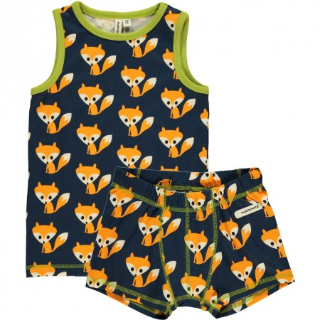 Maxomorra Fox Boxers & Vest