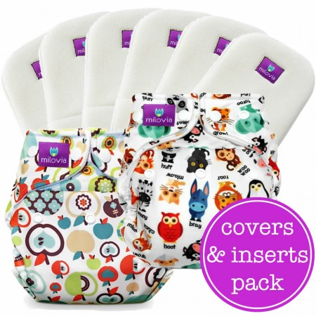 Milovia One Size Cover Mini Pack