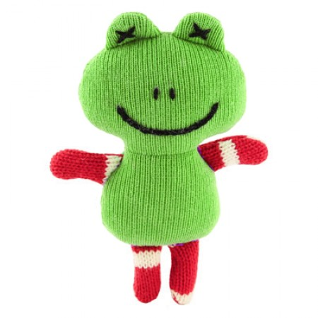 Mini Knitted Frog
