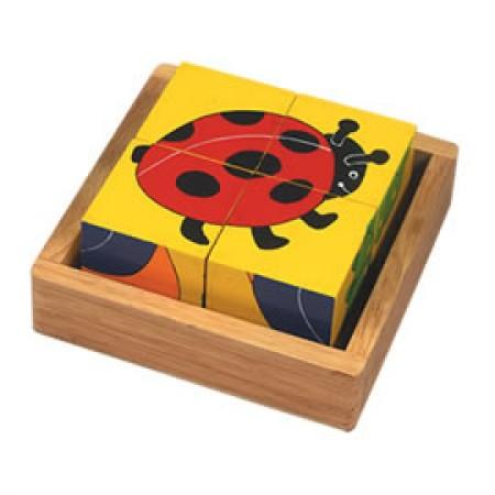 Mini Beasts Block Puzzle