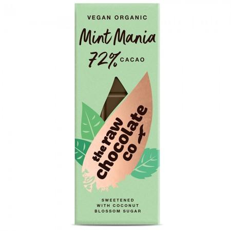 Mint Mania 38g Bar - Raw Chocolate Company