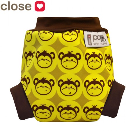 Pop-in Monkey Swim Nappy
