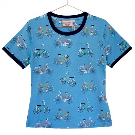 Moromini Adult Bike Like A Swede T-Shirt