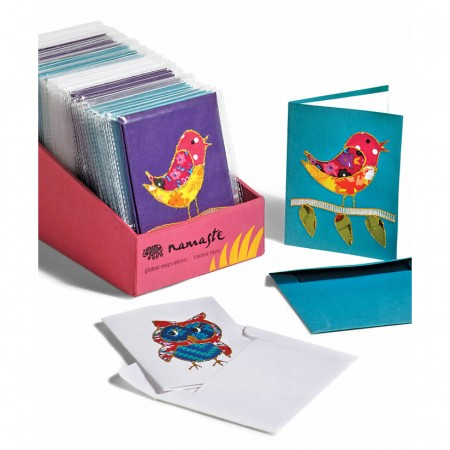 Fair Trade Hand Decorated Cards