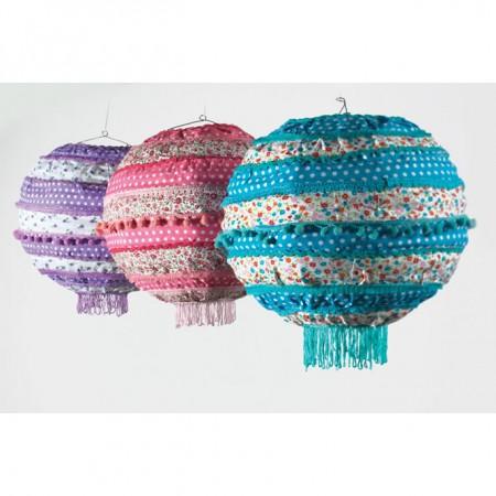 Namaste Printed Cotton Lightshade