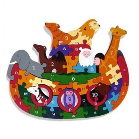 AlphabetJigsaws Noah's Ark
