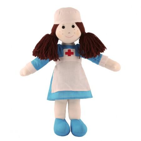 Fair Trade Rag Doll - Nurse
