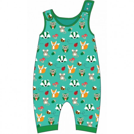 Gecko Nutty for Nature Dungarees