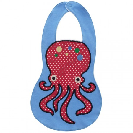 Piccalilly Octopus Bib