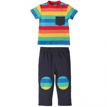Frugi Rainbow Play Days Outfit
