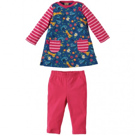 Frugi Skippy Kitty Tunic & Leggings