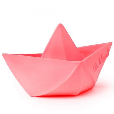 Oli & Carol Origami Boat - Pink