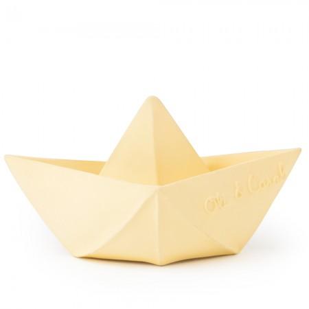 Oli & Carol Origami Boat - Vanilla