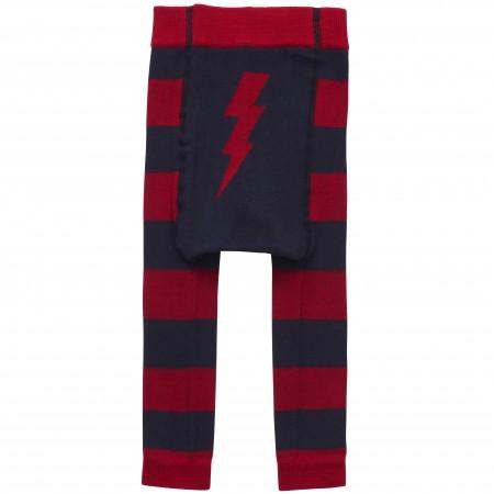Piccalilly Lightning Bolt Knitted Leggings