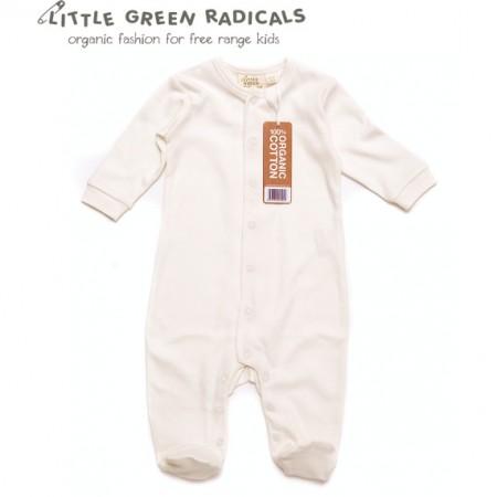 LGR Natural Babygrow