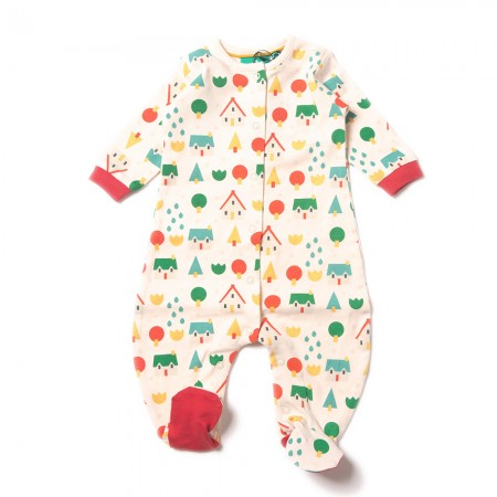 LGR Little Village Babygrow
