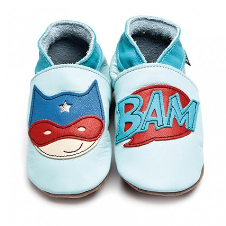Inch Blue Superhero Light Blue Shoes