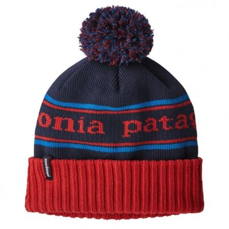 Patagonia Powder Town Beanie - Park Stripe: Fire