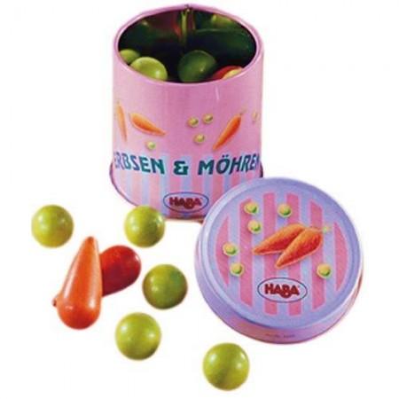 Haba Tin of Peas & Carrots