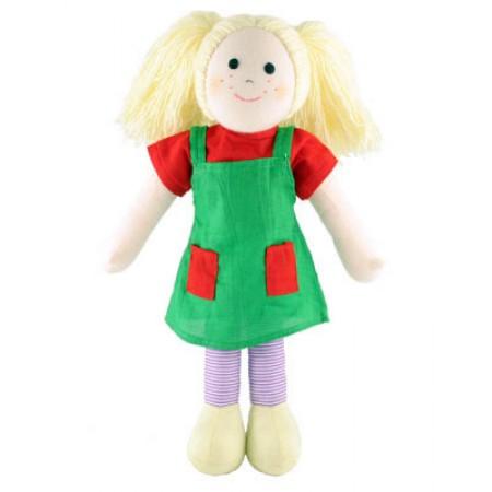 Fair Trade Rag Doll - Phoebe