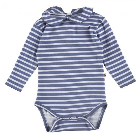 Piccalilly Marlin Stripe Baby Body
