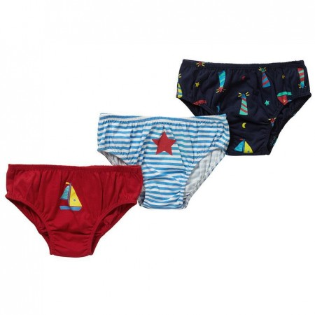 Piccalilly Underpants Set 3 Pack