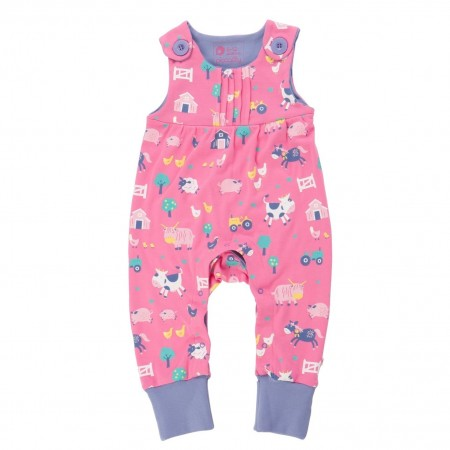 Piccalilly Eldroth Farmyard Dungarees