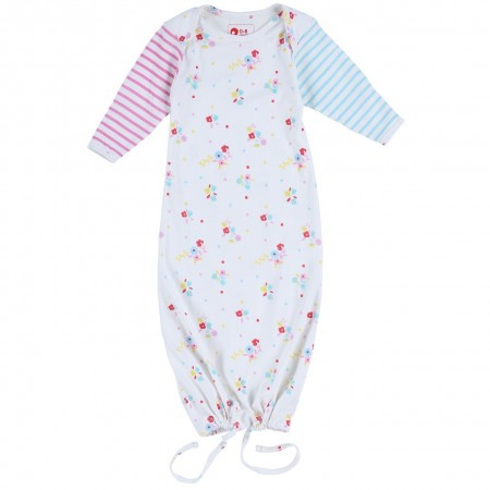 Piccalilly Floral Stripe Nightgown