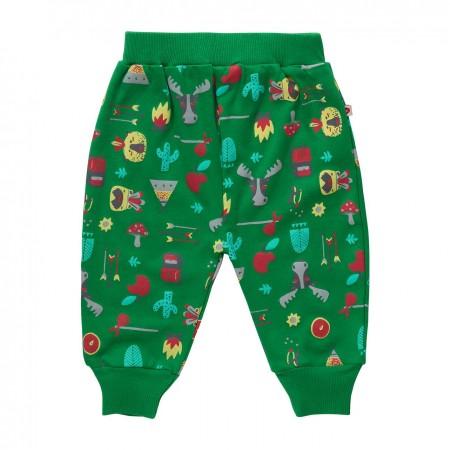 Piccalilly Hawkshead Print Elasticated Trousers
