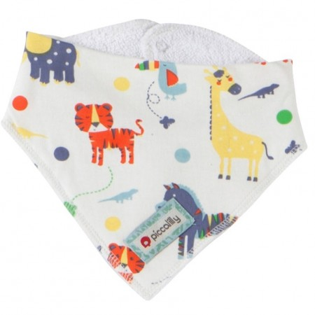 Piccalilly Jungle Bandana Bib