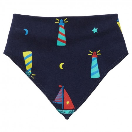 Piccalilly Lighthouse Bandana Bib