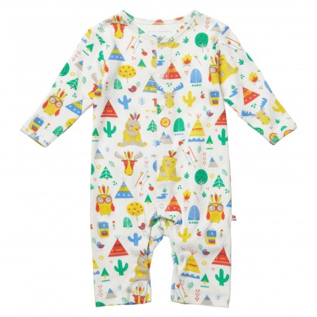 Piccalilly Little Langdale Print Romper