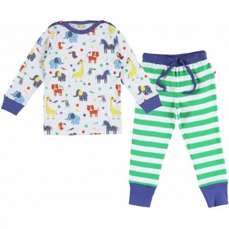Piccalilly Jungle Stripe Pyjamas