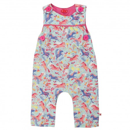 Piccalilly Pretty Horse Dungarees