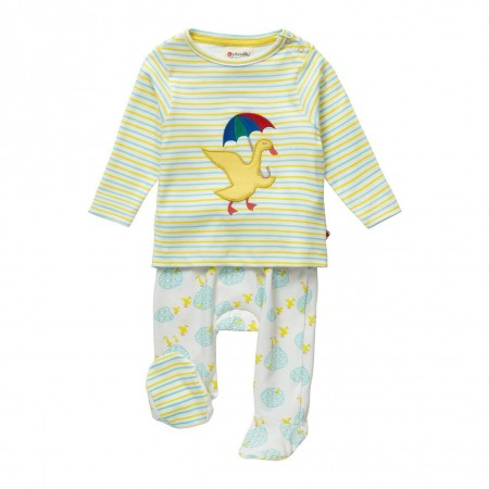 Piccalilly Puddle Duck Baby Gift Set