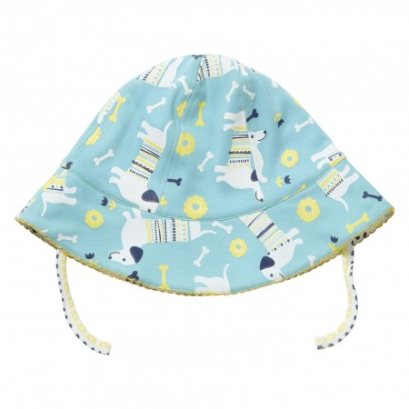 Piccalilly Sausage dog  Reversible Sun hat