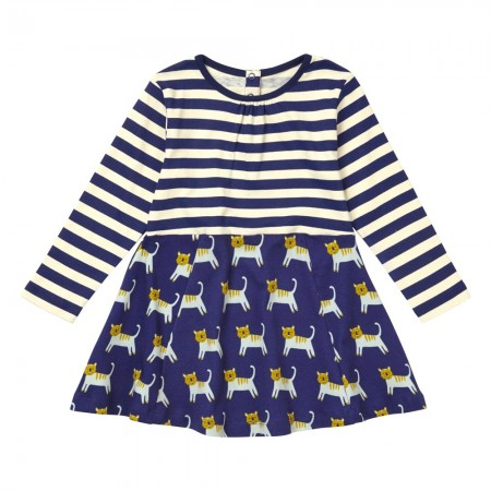 Piccalilly Hello Tiger Skater Dress