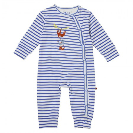 Piccalilly Sloth Wrapover Romper