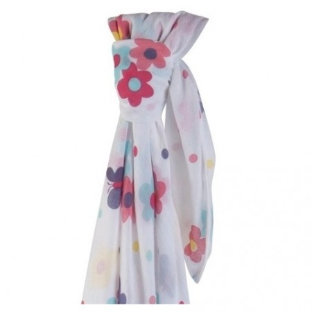 Piccalilly Summer Meadow Muslin Swaddle