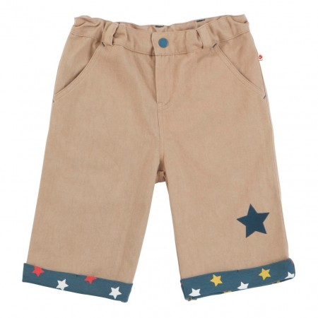 Piccalilly Taupe Cargo Shorts