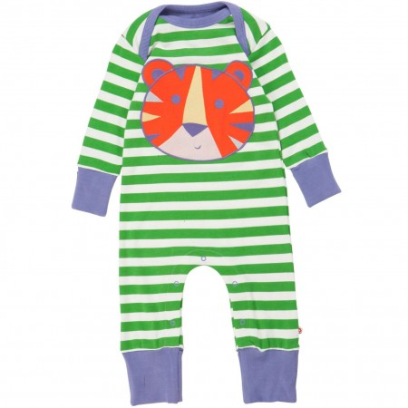 Piccalilly Tiger Applique Playsuit